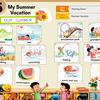 小学校外国語 「My summer vacation.」一時間目 (we can2 Unit5) 一時間目 導入