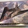 """タミヤ 1/48 ロッキードF-117Aナイトホーク """"The Toxic Avenger"""" 製作機"""