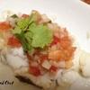 トマト嫌いな私でもこれはイケる!白身魚のトマトサルサ