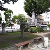大河ドラマ『西郷どん』登場人物も来た。日影門緑地は盛岡藩校の跡地。