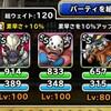 level.1124【ウェイト120】第151回闘技場ランキングバトル最終日