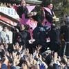 稀勢の里関ら「福は内」…成田山で豆まき式