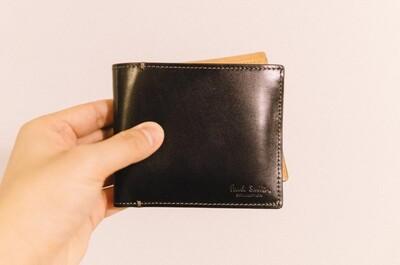 ポールスミスの新しい財布を頂いた。fromサンタさん
