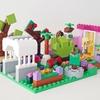 レゴ:フラワーショップ・生花店の作り方 LEGOクラシック10698だけで作ったよ (オリジナル説明書)