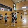 夏休みの部活動④ バスケットボール部男子