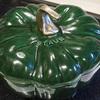 レアなストウブ パンプキンココット バジルグリーン 24cm / Staub Pumpkin Cocotte 3.5qt Basil カボチャのココット