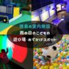 徳島 室内の子供の遊び場・おでかけスポット2。雨でも◎キッズパーク・科学館・子連れスポット8選