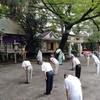 八坂神社宵宮祭、御嶽神社例祭が斎行されました