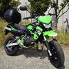 2ストのKSRⅡというバイクを借りることになりました