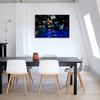 アートパネルで部屋をおしゃれに。壁掛けアートボード人気の写真や絵を飾ってインテリアコーディネイトを。