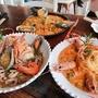 済州島(チェジュ島)グルメ #魚介たっぷりの料理「下禮庭園」