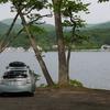 夫婦で日本一周 秋田の小坂町でカツラーメンを食べて十和田湖でキャンプ