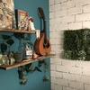 【100均DIY】壁を造草でおしゃれなボタニカル調に飾るレシピ!