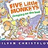 【英語動画】単数形と複数形が学べる英語の童謡Five Little Monkeys Jumping on the Bed