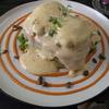 ハノイでハロウィンメニュー(かぼちゃのエッグベネディクト)タイホー区のおしゃカフェ♪「C'est Bon」