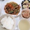 今日10/5(月)の夕飯は回鍋肉と大根とツナの煮物等