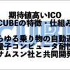 仮想通貨CUBEの特徴と将来性|サムスンと提携などの好材料