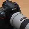 NikonD4sをニコンの定期メンテナンス+外装ゴム交換オプションに出してみた。