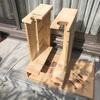 隙間家具的ギタースタンドの増築