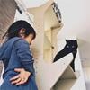 [黒猫と娘]2歳児と黒猫の近況