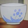 小梅さんの茶碗(報瀬の家でのお茶のシーン)