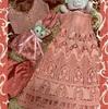 インドの刺繍ツーピースをワンピースとバッグにリメイク!