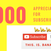 チャンネル登録者1000人の皆様への御礼❤︎