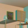 【Blender2.92】Archimesh:家具の設置