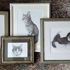 ギャラリーこもれびさんの「猫&犬展」に参加します