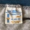 640 ビンテージ TOWNCRAFT トリム 霜降りTシャツ 70's80's