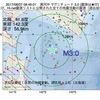 2017年08月07日 08時46分 浦河沖でM3.0の地震