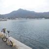 倉橋島の桂浜温泉に行ってビール飲んでソーセージ焼くだけのサイクリング