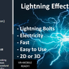 【Unity】簡単に雷のエフェクトを作成できる「Lightning Bolt Effect for Unity」紹介(無料)
