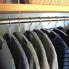 【クローゼット収納】ニットにもボーダーシャツにもぴったりの ニトリのアーチハンガー