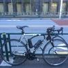 朝練、自転車いじり