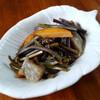 本日の朝食惣菜はワラビの煮物<おうちごはん>
