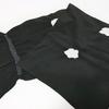 【帯揚げ】モノトーンコーデにしたくて買った黒の絞りの帯揚げ