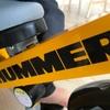 2歳の誕生日にHUMMERの三輪車を購入したのでレビューします【ハマー】