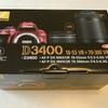 Nikon D3400購入記