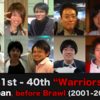 "Top 40 Japanese Melee players before Brawl (2001-2008) | ""Warriors"" 31st -40th"