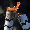 日本におけるオリンピック聖火台と聖火セレモニーを観る