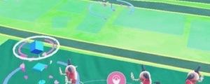 横浜みなとみらい「ポケモンGOパーク」でバリヤード大量発生チュウ