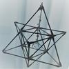 神聖幾何学模様のマカバを作ってみました。