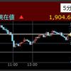 キャリアが後場の株価上昇率トップ2021/5/21