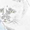 【イラスト】猫:ミチルちゃん【似顔絵】