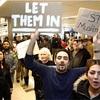 米入国制限、一時差し止め命令 連邦地裁