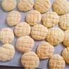 ホットケーキミックスでメロンパンクッキー