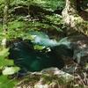 西沢渓谷の滝はエメラルドグリーンに光っていた / 日帰り登山日記