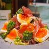 【レシピ】味玉とブロッコリーの生ハムサラダ