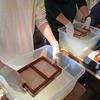 久しぶりに手すき和紙作りワークショップを開催しました!